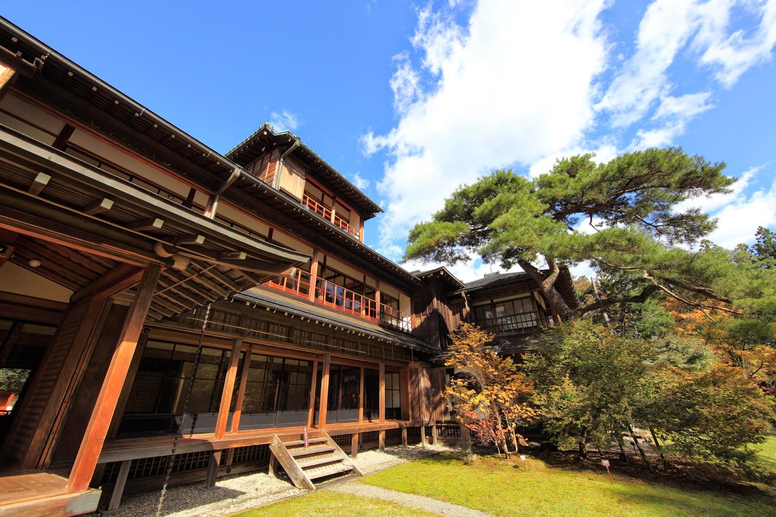 Jap n y su cultura elementos que no deben faltar en una - Casas japonesas tradicionales ...